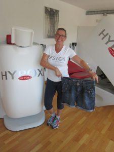 Sonja, glückliche HYPOXI-kundin